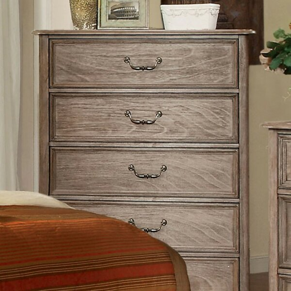 Howley Wooden 5 Drawer Chest by August Grove