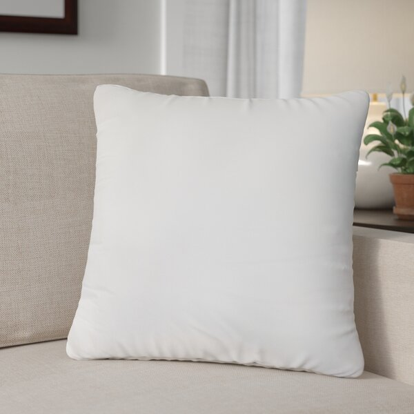 Plush and Soft Cotton Throw Pillow Insert by Alwyn Home