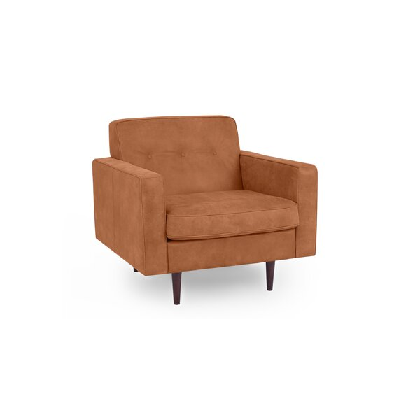 Mickey Mid-Century Club Chair By Corrigan Studio