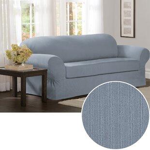 Box Cushion Sofa Slipcover (Set of 2)