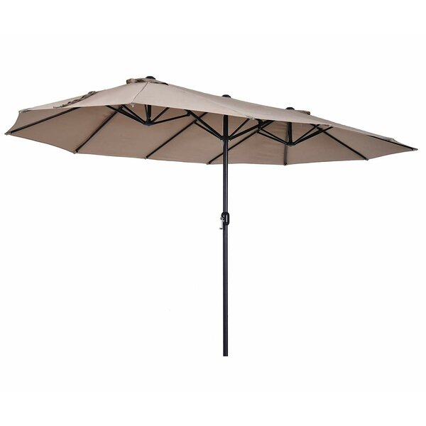 Solihull 9 x 15 Rectangular Market Umbrella by Freeport Park