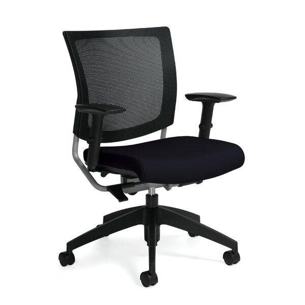 GRAPHIC Posture Mesh Desk Chair by Global Total Office