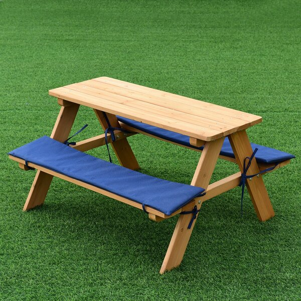 Nash Picnic Table by Harriet Bee