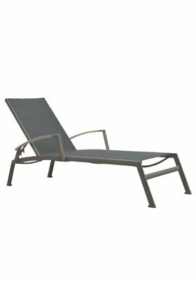 Sono Reclining Chaise Lounge by Tropitone
