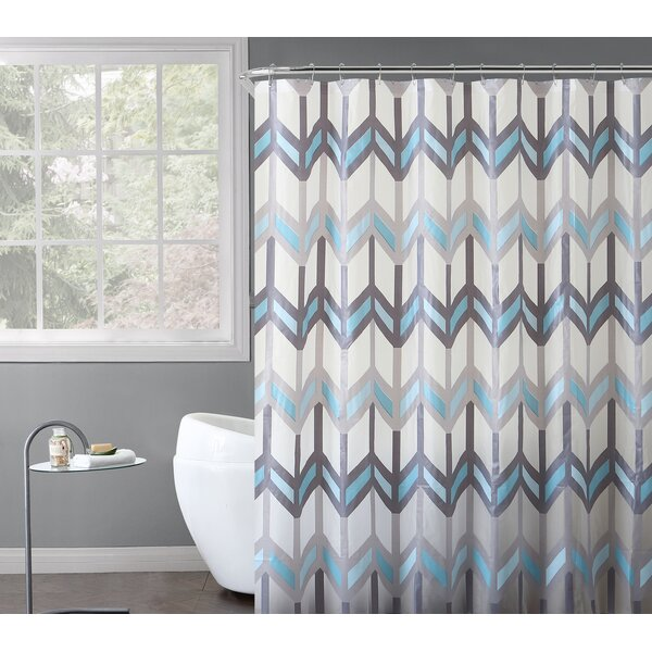 Olivia Shower Curtain Set by Rebrilliant