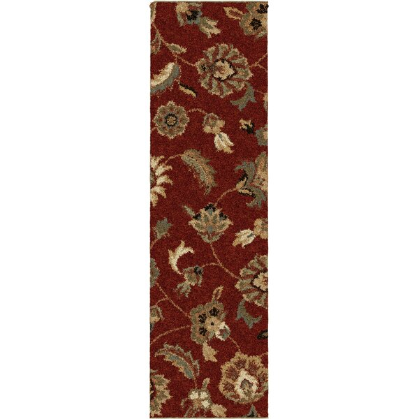Landyn Rouge London Red Area Rug by The Conestoga Trading Co.