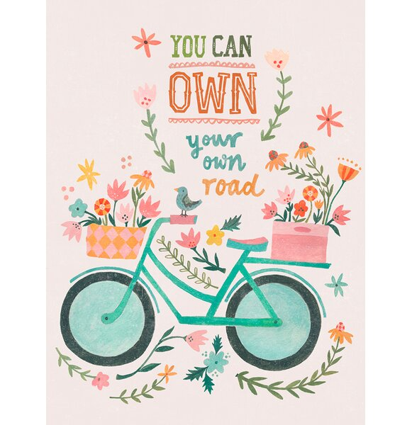 You Can Own Your Own Road Canvas Art by Oopsy Daisy