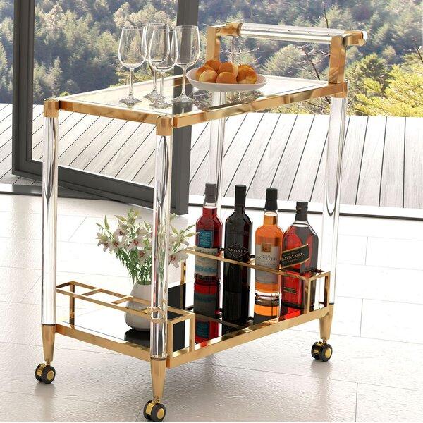 Gillon Bar Cart by Everly Quinn