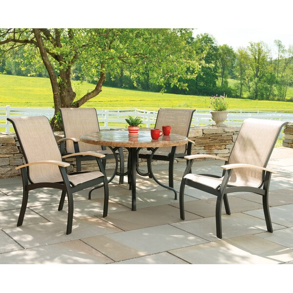 Belle Isle Patio Dining Chair (Set of 2) by Telescope Casual