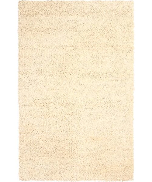Foynes Hand-Woven Ivory Area Rug by Meridian Rugmakers