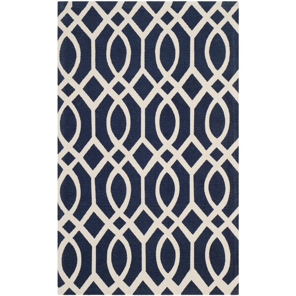 Holsworthy Navy / Ivory Rug by Mercer41
