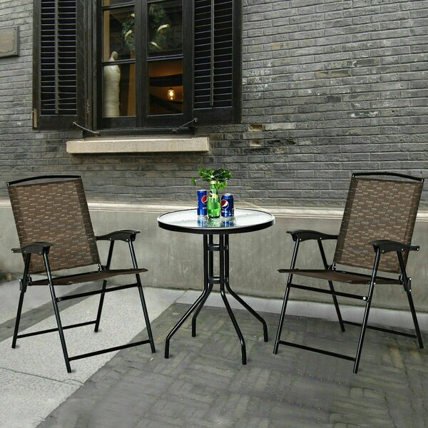 Stilton 3 Piece Bistro Set By Latitude Run