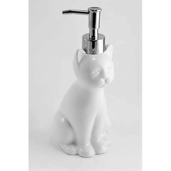 Blondelle Bath Clean Cat Decorative Soap and Lotion Dispenser by Trent Austin Design