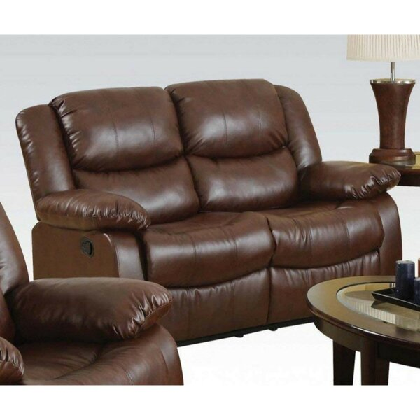 Browse Our Full Selection Of Nagao Upholstered Reclining Loveseat by Winston Porter by Winston Porter