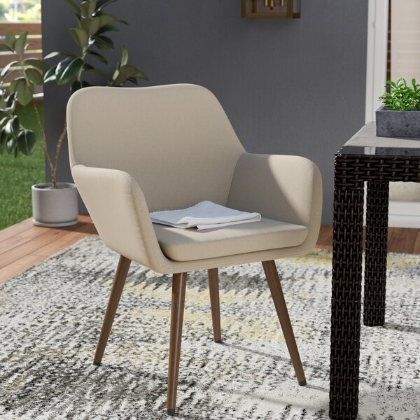 Aughnaholle Patio Dining Chair with Cushion by Corrigan Studio Corrigan Studio