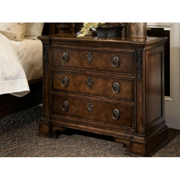 Amalfi 3 Drawer Nightstand by Fine Furniture Design