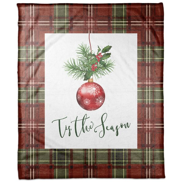 Wilde Tis the Season Blanket by The Holiday Aisle