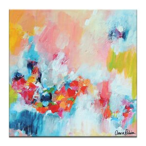 Chasing Waterfalls by Amira Rahim Painting Print on Wrapped Canvas by Artist Lane