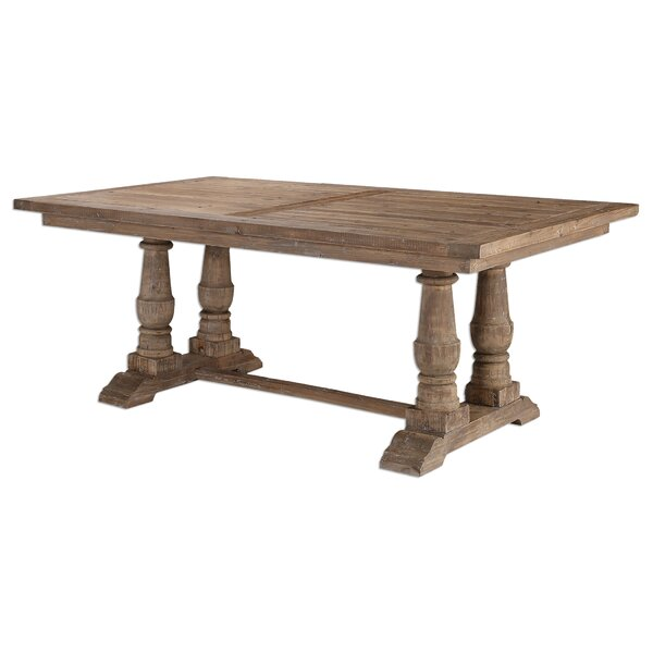 Axtellon Solid Wood Dining Table by One Allium Way