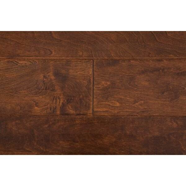 Latrobe 6 Engineered Maple Hardwood Flooring in Java by Alcott Hill