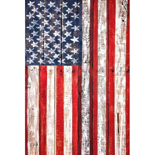 American Fence Garden flag by Toland Home Garden