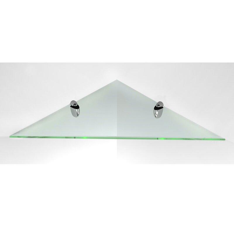 glass corner shelf - Glass Corner Shelves
