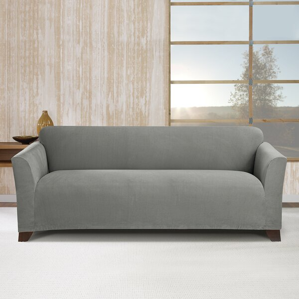 Stretch Morgan Box Cushion Sofa Slipcover by Sure Fit