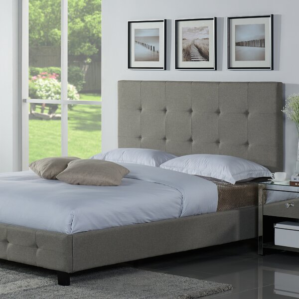 Tiara Upholstered Platform Bed by Latitude Run