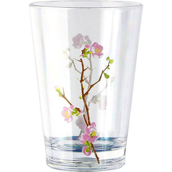 Cherry Blossom Acrylic 8 oz. Drinkware (Set of 6) by Corelle