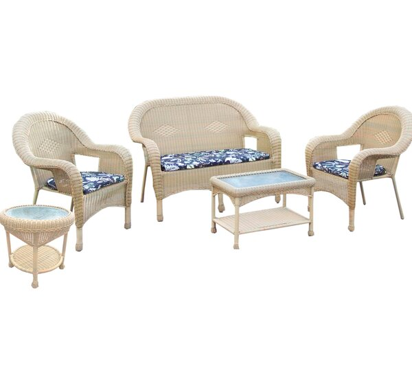 5 Piece Sofa Set with Cushions by Oakland Living