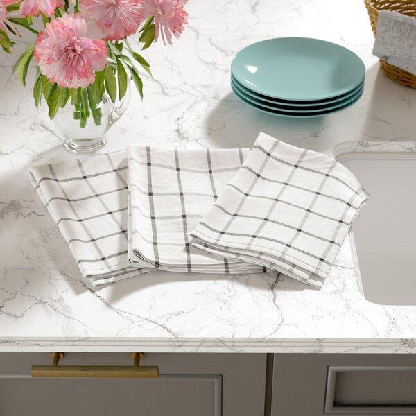 Windowpane Kitchen Towel (Set of 3) by Mint Pantry