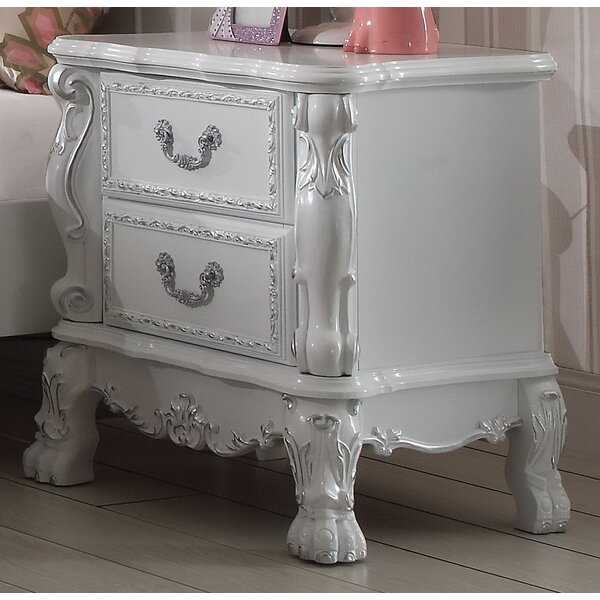 Dhoom 2 Drawer Nightstand by Andrew Home Studio