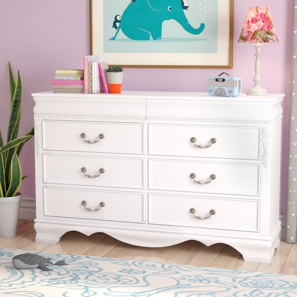 Weidler 6 Drawer Double Dresser by Viv + Rae