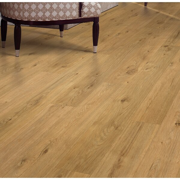 Cabrini 8 x 47 x 7.14mm Oak Laminate Flooring in Golden by Mohawk Flooring