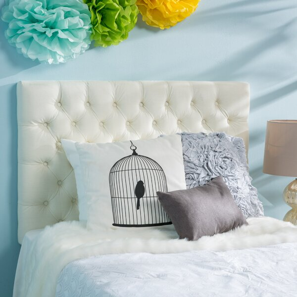 Gingras Twin Upholstered Panel Headboard by Viv + Rae