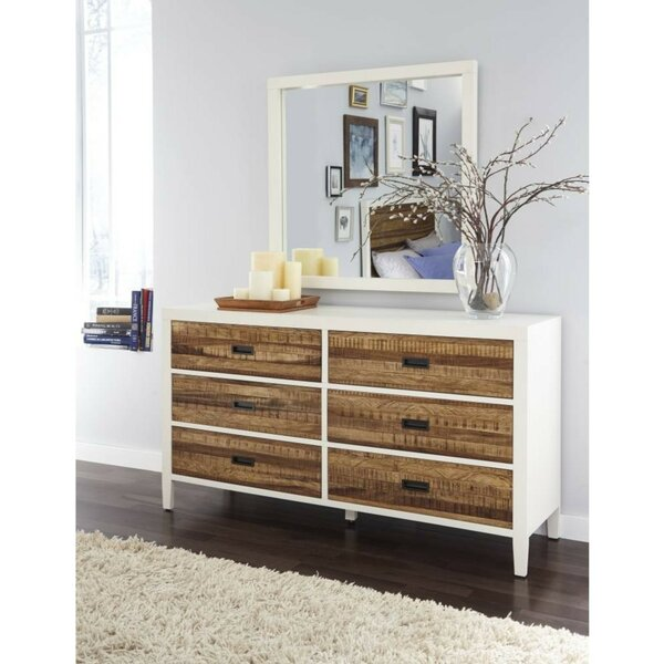 Boyette Plank Wood 6 Drawer Double Dresser by Foundry Select