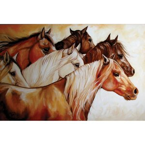 Wall by Marcia Baldwin 3 Piece Painting Print on Canvas Set by Cape Craftsmen