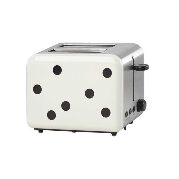 2 Slice All in Good Taste Deco Dot Toaster by kate spade new york