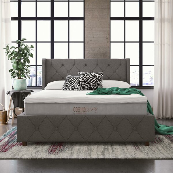 "Reign 10"" Medium Hybrid Mattress by CosmoLiving by Cosmopolitan"