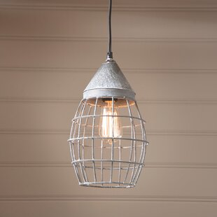 Affordable Victoria 1-Light Pendant By Gracie Oaks