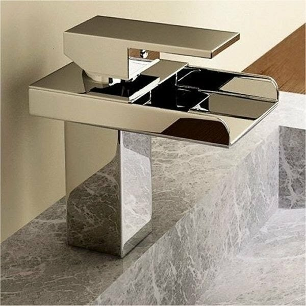 Kokols Single Hole Waterfall Bathroom Sink Faucet & Reviews | Wayfair