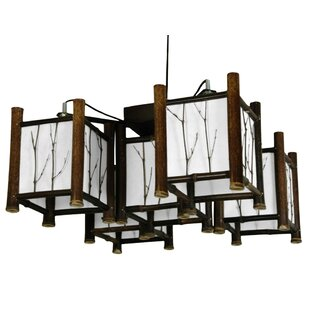 Diane 5-Light Hanging Lantern Chandelier By World Menagerie Outdoor Lighting