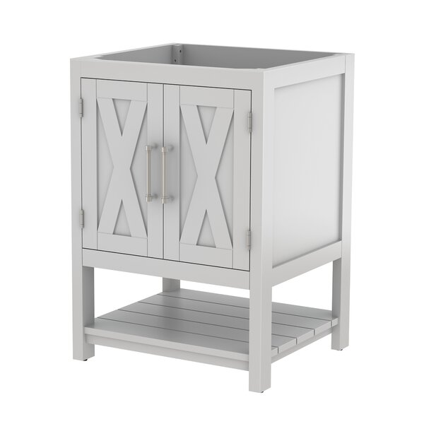 Freestanding 24 Single Bathroom Vanity Base by Bello