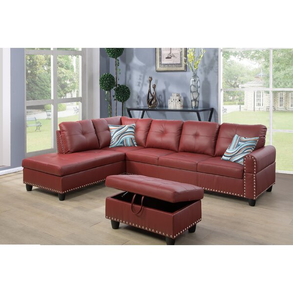 #2 Samuelson Sectional With Ottoman By Red Barrel Studio Bargain