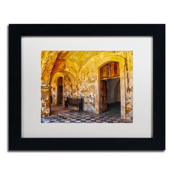 Castillo San Felipe del Morro 1 by CATeyes Framed Photographic Print by Trademark Fine Art