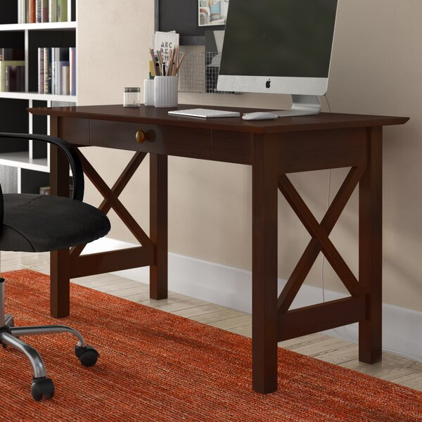 Harvel Drawer Writing Desk by Three Posts