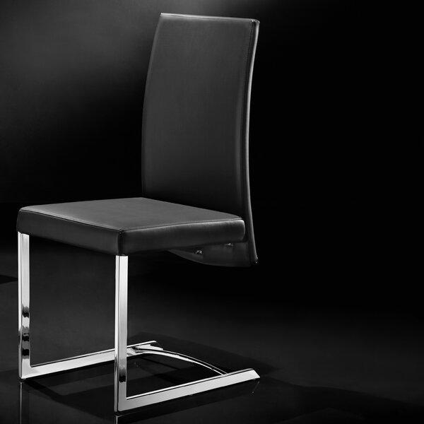 Skyler Upholstered Dining Chair (Set of 4) by Wade Logan Wade Logan