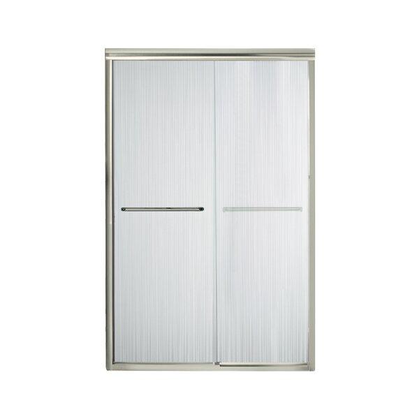 Finesse 47.63 x 70.06 Bypass Frameless Shower Door by Sterling by Kohler