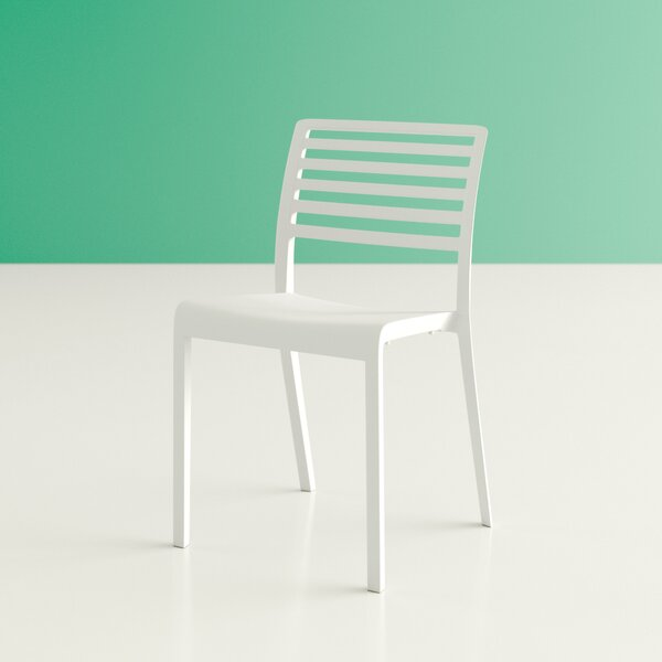 Mirabella Stacking Patio Dining Chair By Hashtag Home