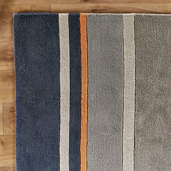 Dark Periwinkle Area Rug by Birch Lane™